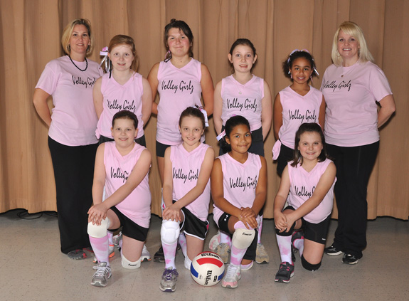 FRANKLIN CO. PARKS AND REC WINTER SPIKE 8-11VOLLEY GIRLZ