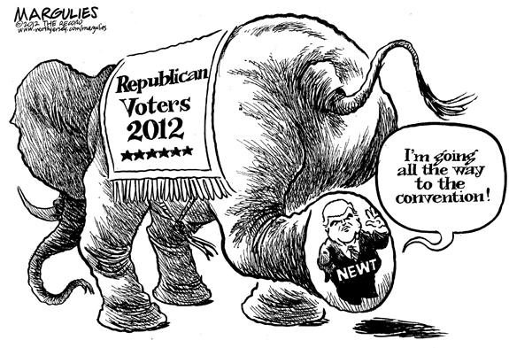 Editorial Cartoon: Newt