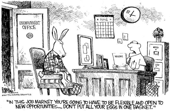 Editorial Cartoon: Easter Bunny
