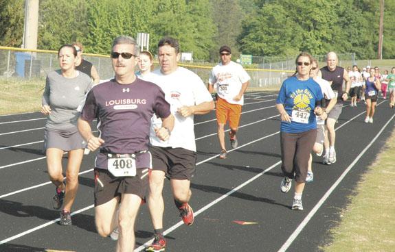 Runnin' in Bunn for fun (and health)