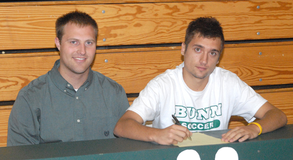 Strassburger Signs With BC