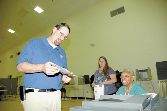 Voter turnout seems higher than expected