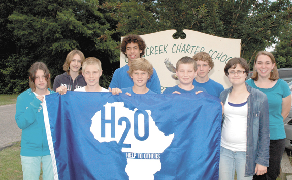 <i>Run for water! Local students are Water Warriors for others</i>