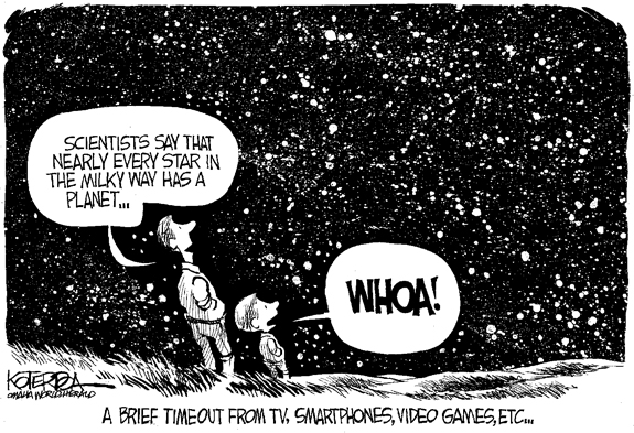 Editorial Cartoon: Stars