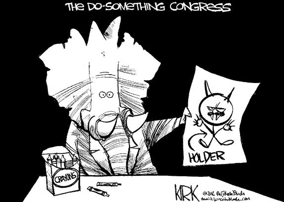 Editorial Cartoon: Congress At Work