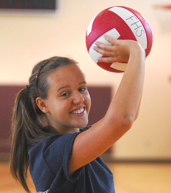 FHS cruises to volleyball wins