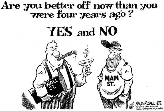 Editorial Cartoon: Better Off?