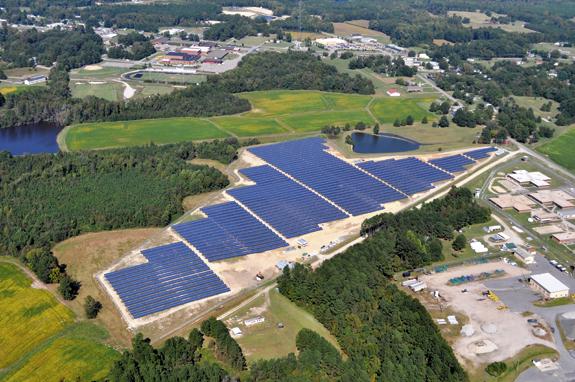 'Farm' generating 'sun-tricity' near Bunn