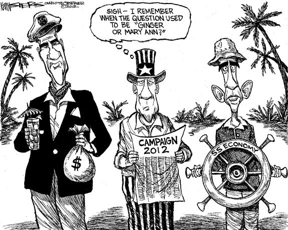 Editorial Cartoon: Castaways