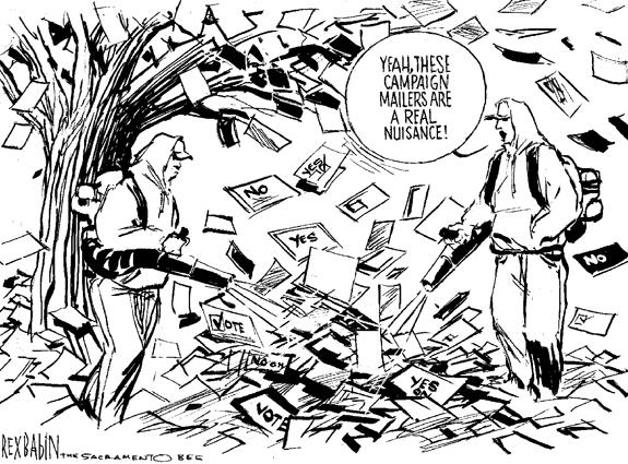 Editorial Cartoon: Fall Campaign