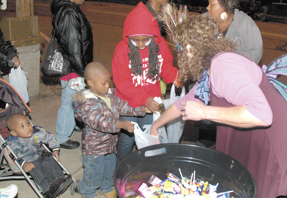 A countywide invasion of . . . candy snatchers?