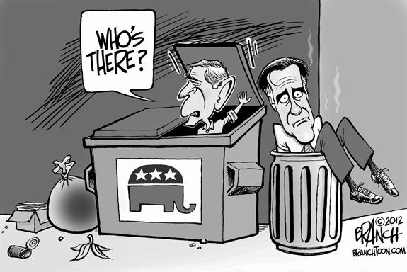 Editorial Cartoon: Dumped