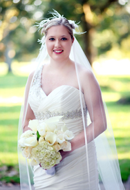 <i>Couple exchanges wedding vows in ceremony at Meredith College</i>