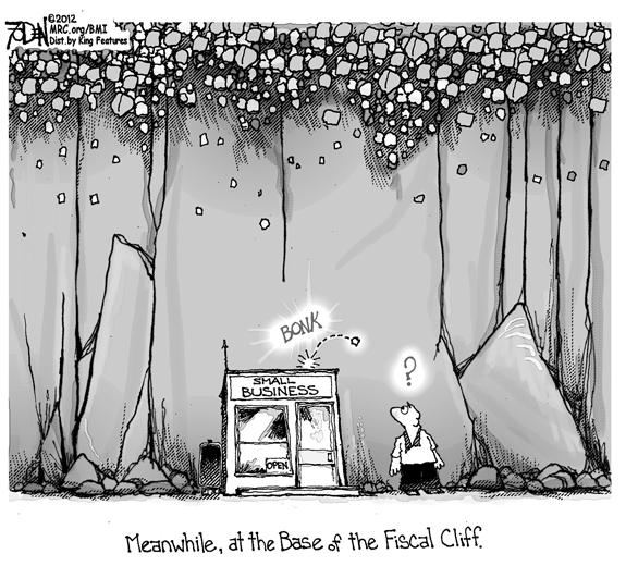 Editorial Cartoon: Small Business