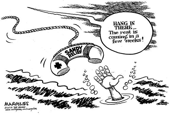 Editorial Cartoon: Relief?