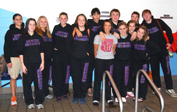 Louisburg enjoys inaugural swim campaign