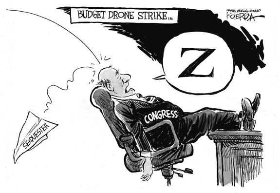 Editorial Cartoon: Drone Strike