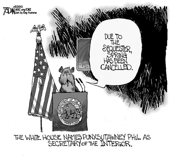 Editorial Cartoon: Spring