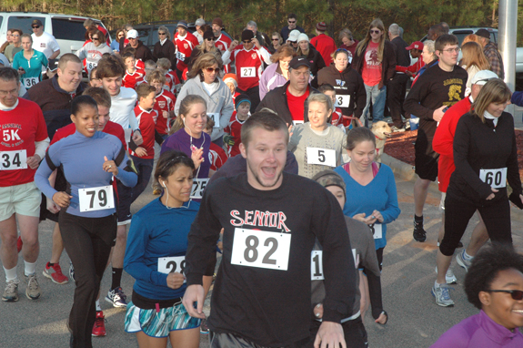 A good run for fun and recreation in Youngsville