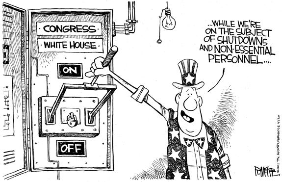 Editorial Cartoon: Pull The Switch
