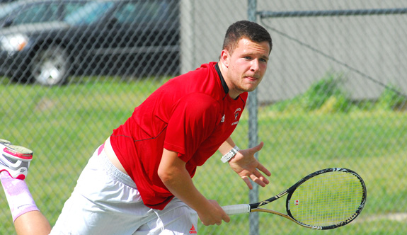 Bunn wins tennis duel with Franklinton
