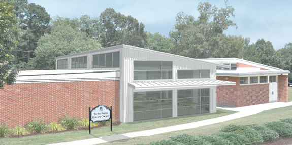 <i>Legacy of Ray Hodges to live on in college's new fine arts complex</i>