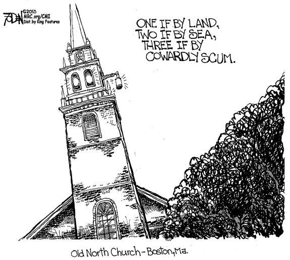 Editorial Cartoon: Scum