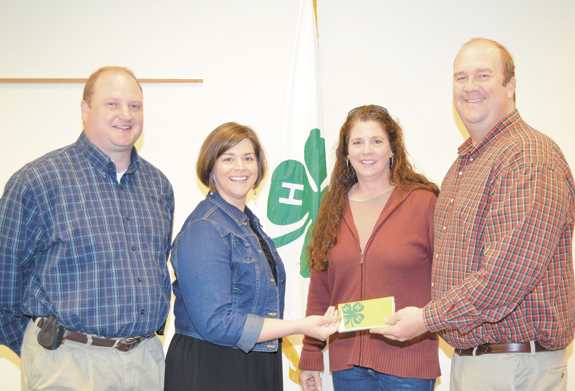 <i>4-H DIRT club really 'digs in' to raise funds to aid program</i>