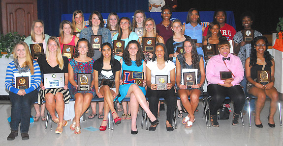 LHS GIRLS HONOREES