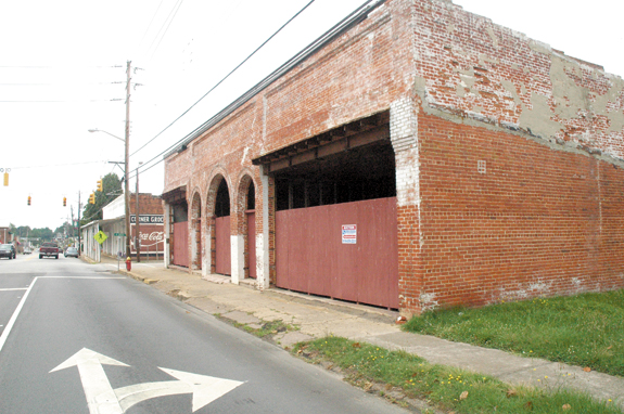 Youngsville board backs downtown rehab project