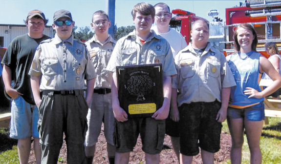 Local Scout completes Eagle project