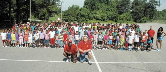 Franklinton summer camp provides hot options for kids