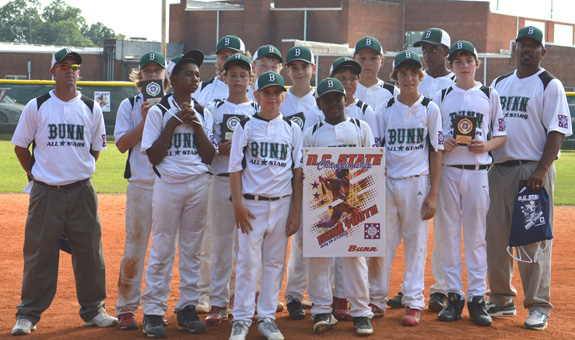A JOB WELL DONE BY THE BUNN ALL-STARS