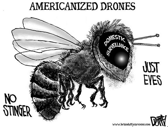 Editorial Cartoon: Americanized