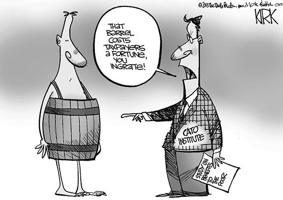 Editorial Cartoon: Poor