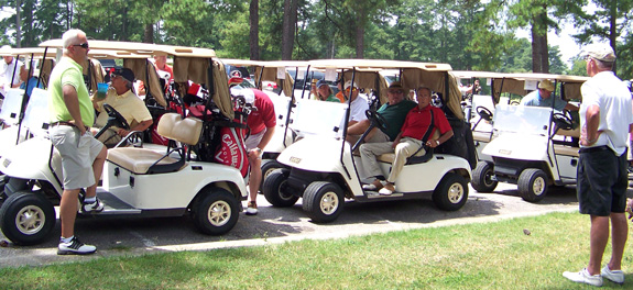 Safe Space hosts golf event