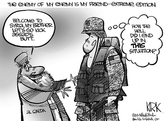 Editorial Cartoon: Syria