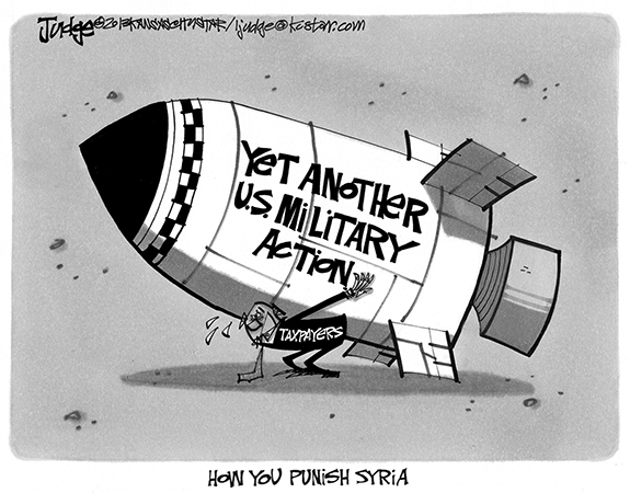 Editorial Cartoon: The Plan