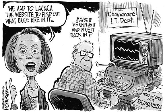 Editorial Cartoon: 'Net Bugs