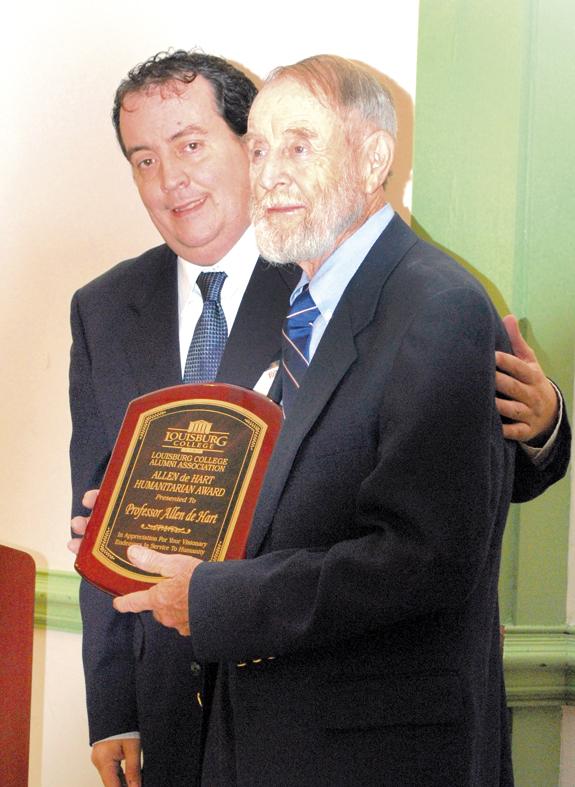 <i>Louisburg College honors two local alumni</i>