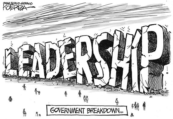 Editorial Cartoon: Leadership