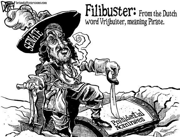 Editorial Cartoon: Pirate