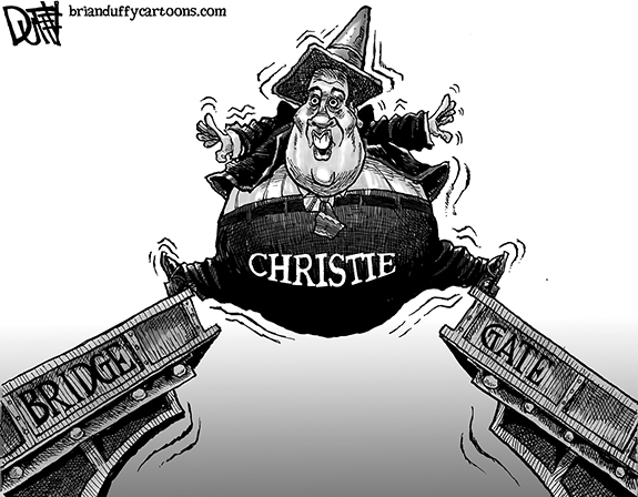 Editorial Cartoon: Christie