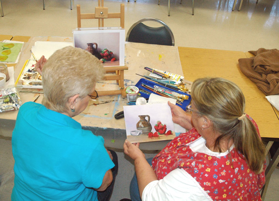 <i>State budget cuts pinch art class; help is sought</i>