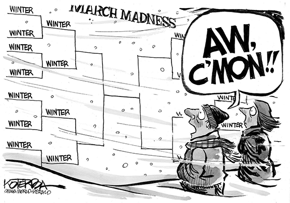 Editorial Cartoon: Winter