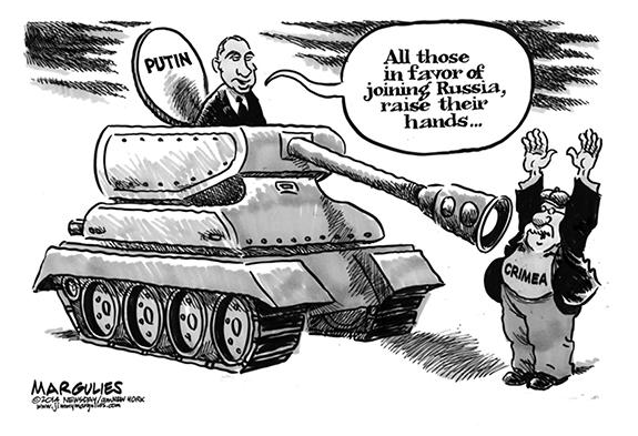 Editorial Cartoon: Crimea