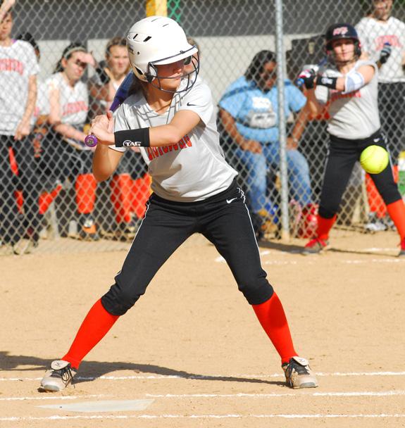 Louisburg claims road softball win