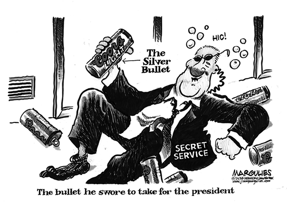 Editorial Cartoon: Silver Bullet