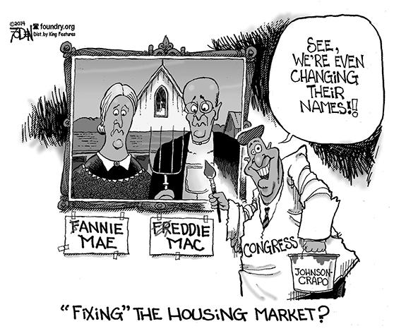 Editorial Cartoon: Housing
