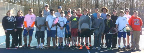 Louisburg clinches conference net crown